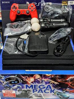 Игровые приставки - PS4 Pro. 999 Игр. 3 Tb. VR шлем. Новая. 7.50, 0