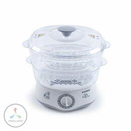 Пароварки - Пароварка Endever Vita-160, белый/серый, 0