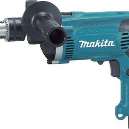 Дрели и строительные миксеры - Дрель ударная MAKITA HP1630KX1, 0