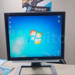 "Мониторы - Монитор LCD ViewSonic vх715 17"", 0"