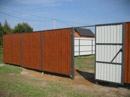 Металлопрокат - Забор из сетки рабицы, 0