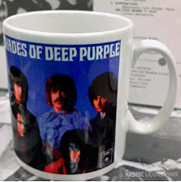 Deep Purple - Shades Of Deep Purple - Кружка по цене 2000₽ - Кружки, блюдца и пары, фото 0