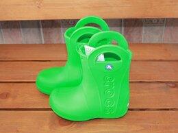 Резиновые сапоги и калоши - Резиновые сапоги crocs Handle It Rain Boot, 0