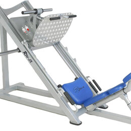 Тренажеры со встроенными и свободными весами - Жим ногами, 0