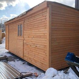 Готовые строения - Вагончик деревянная новая 6х2.30 А-190, 0
