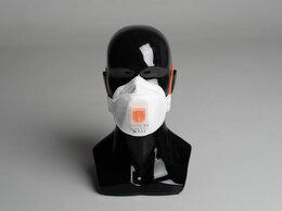 Средства индивидуальной защиты - Респиратор полумаска трехпанельная WALL AIR 80HK…, 0