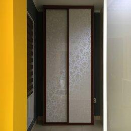 """Межкомнатные двери - Двери-купе Komandor АГТ """"Белые цветы"""", 0"""