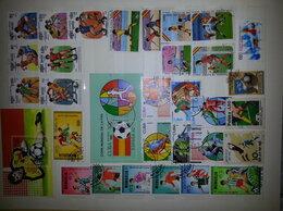 Марки - почтовые марки блоки малые листы, 0