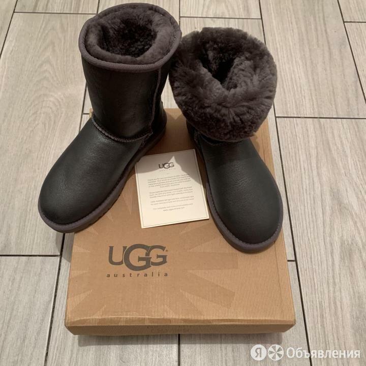 UGG Australia графитные кожаные угг обливные уги угг по цене 4990₽ - Угги, фото 0
