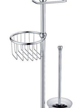 Полки, стойки, этажерки - Стойка в ванную комнату Timo 150185/00 хром, 0