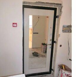 Входные двери - дверь с зеркалом Троя MAXI 100мм 3 контура уплатнения, 0