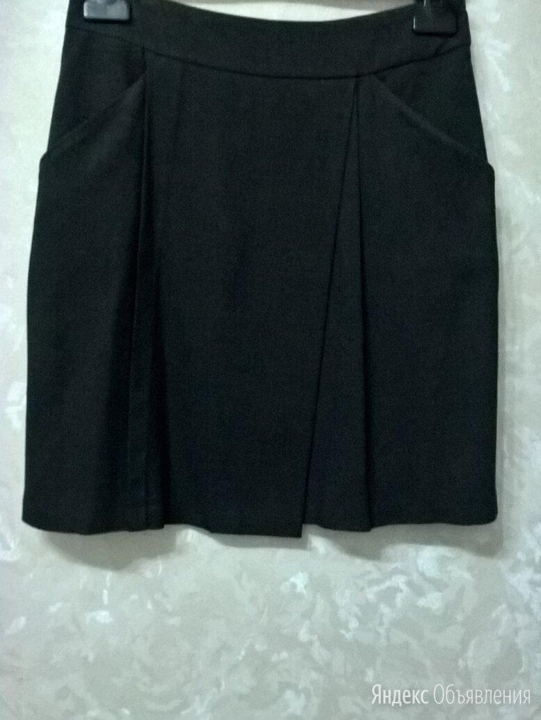 Темно-серая юбка на подкладке по цене 300₽ - Юбки, фото 0