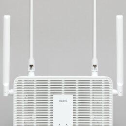Оборудование Wi-Fi и Bluetooth - Xiaomi Redmi AX5 AX1800 Wi-Fi 6 Mesh Router, 0