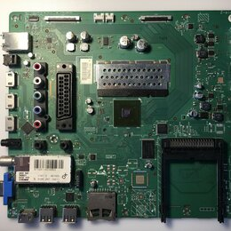 Запчасти к аудио- и видеотехнике - Материнские (Main) платы для телевизоров Philips Sony Panasonic Sharp Toshiba, 0