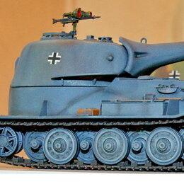 Сборные модели - 1/35 модель танка ВК 7201 (К) проект, Германия 1942 год  масштаб 1/35, 0