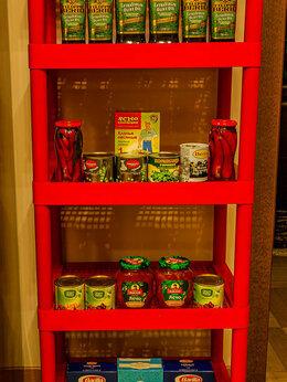 Стеллажи и этажерки - Стеллаж пластиковый разборный на 5 полок, 0