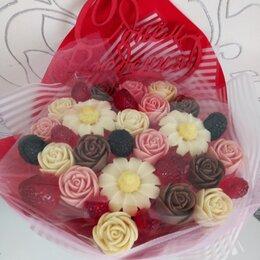 Цветы, букеты, композиции - Шоколадные букеты ручной работы, 0