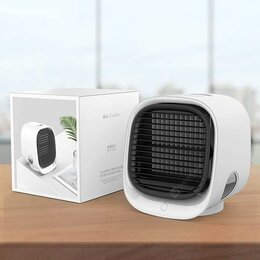 Вентиляторы - Мини кондиционер Mini Air Cooler M201 ночник с…, 0