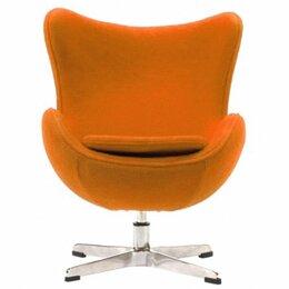 Кресла - Кресло-яйцо напольное оранжевое Egg Chair, 0