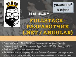 Разработчик - Fullstack-разработчик (.Net / Angular), 0
