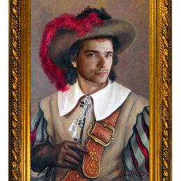 Рисование - Портрет маслом на холсте по фотографии, 0