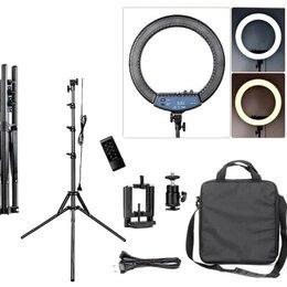 Фотовспышки - Кольцевая лампа RL-18 45см с сумкой, 0