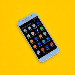 Мобильные телефоны - Samsung Galaxy A3 (2017) Blue РСТ, 0