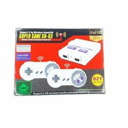 Ретро-консоли и электронные игры - Денди HDMI 821игра беспроводные джойстики на акб, 0