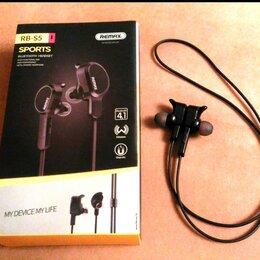 Наушники и Bluetooth-гарнитуры - Беспроводные cтерео-наушники Remax Sports (RM-S5), 0