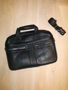 Портфели - Новый кожаный мужской портфель, 0