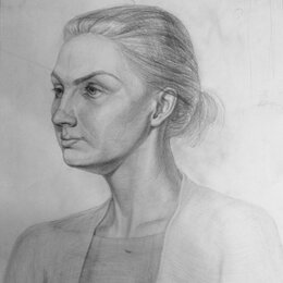 Картины, постеры, гобелены, панно - Портрет женщина, 0