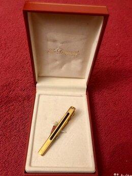 Запонки и зажимы - Зажим для галстука S.T.DUPONT Gold, 0