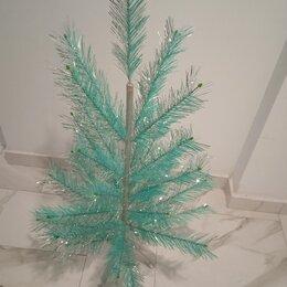 Ёлки искусственные - Елка новогодняя зеркально-серебристая декоративная, 0