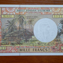 Банкноты - ФРАНЦУЗСКАЯ ПОЛИНЕЗИЯ  1000 франков 1996 г., 0