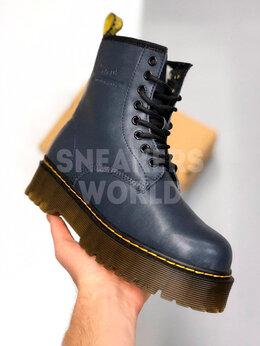 Ботинки - Dr Martens Jadon синие с мехом, 0