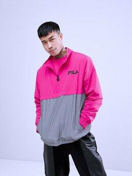 Куртки - Рефлективный Неоновый Розовый Анорак Fila  Оригиал, 0