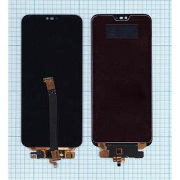 Аксессуары и запчасти для ноутбуков - Модуль для Huawei Honor 10 черный, 0