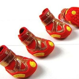 Одежда и обувь - Ботиночки для собак, 0