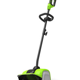 Лопаты и движки для снега - Снегоуборщик-снеголопата Greenworks GD40SSK2 2600807UA, 0
