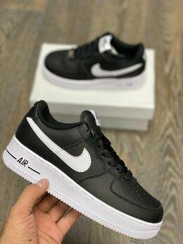 Кроссовки и кеды - Кроссовки Nike Air Force 1 Black , 0