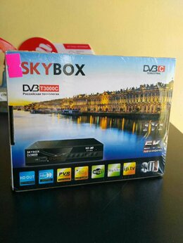 TV-тюнеры - ТВ приставка DVB-T2/C Skybox, 0