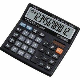 Калькуляторы - Калькулятор CITIZEN CТ-555N 12 разрядный расчет торг. наценки(13*12,8*3,4см) 10/, 0