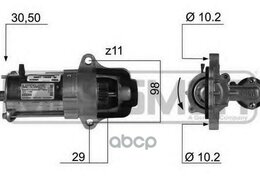 Электрика и свет - Стартер Ford Focus Ii Mondeo Iv 2.0 220369 Era ..., 0