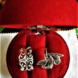 Кольца и перстни - Кольцо стильное (справа), размер 18, СЕРЕБРО 925 пробы, 0