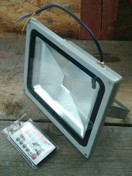 Уличное освещение - Светодиодные прожектор RGB 30W с пультом Д/У IP65, 0