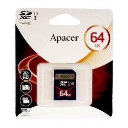 Карты памяти - Карта памяти SDXC 64 GB Class10 UHS-I Apacer, 0
