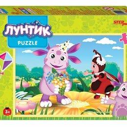Пазлы - Steppuzzle Пазлы 54 71138 Лунтик+Барбоскины, 0