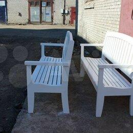 Комплекты садовой мебели - садовая мебель скамейка  и кресло , 0