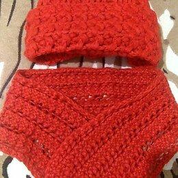 Головные уборы - Комплект шапка и шарф, 0