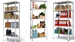 Стеллажи и этажерки - Стеллаж металлический для дома и офиса, 0